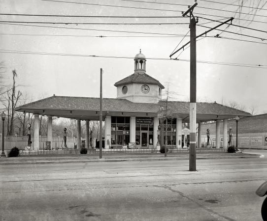 vintage filling stations california