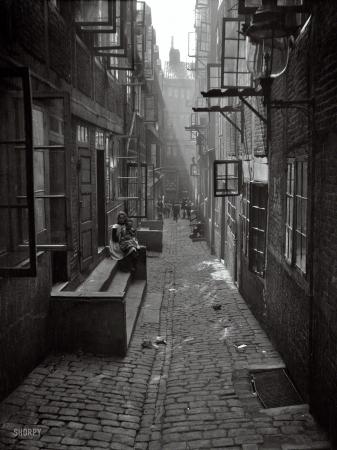 Arnold Genthe Framed Canvas Vintage Photos