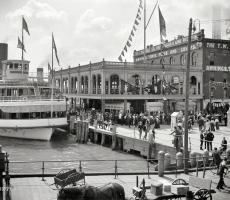 Amazon.com: Wee Blue Coo Photo Vintage Cityscape Amsterdam